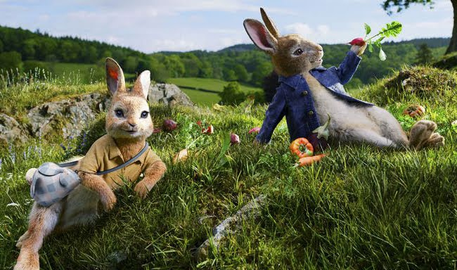 Phim Peter Rabbit bộ phim hoạt hình hài hước vui nhộn 2018