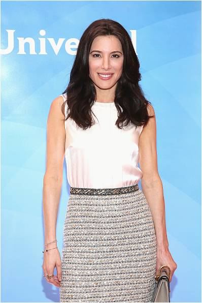 Jaime Murray Wears Andi Alyse Jewelry