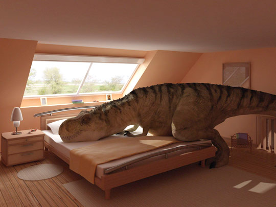 pet tyrannosaurus rex