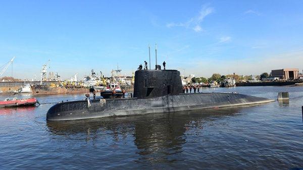 Disminuyen posibilidades de encontrar el submarino argentino