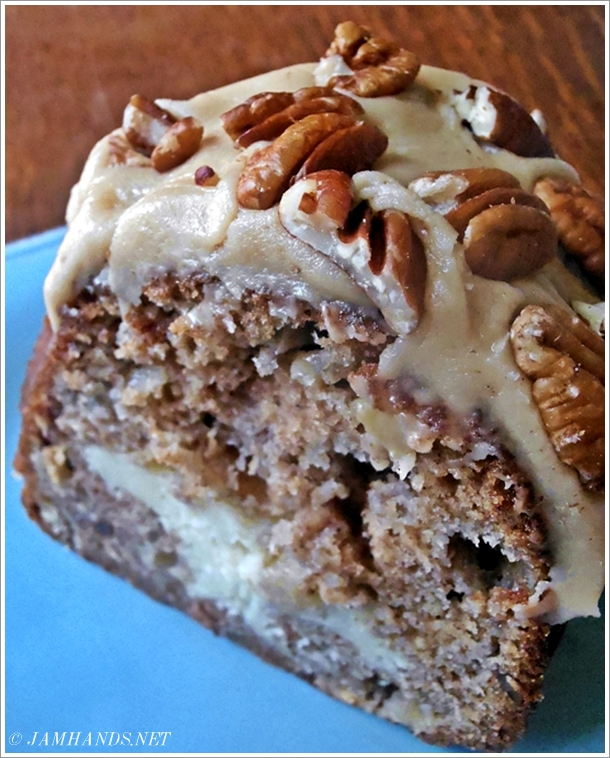 Apple Cake With Cream Cheese Filling