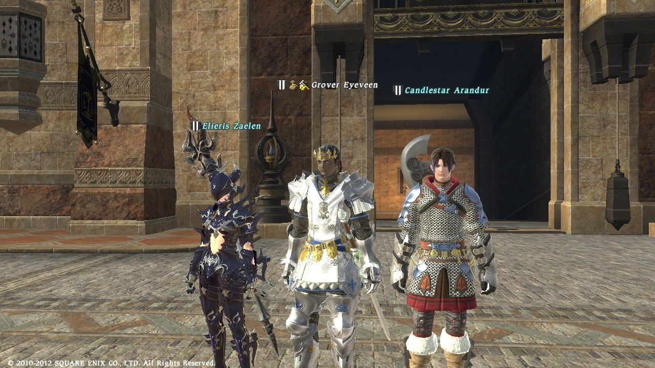 Grover's Rants and Rambles: FFXIV Artifact Armor PLD BLM!