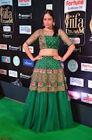 Nandita Swetha in a tight Green Choli Ghagra at IIFA Utsavam Awards March 2017 ~ 039.JPG