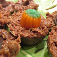 Halloween Cookies: Chocolate Oatmeal No Bake Cookies