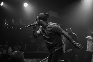 Live music event photo showing Chingy Live in concert in 2017
