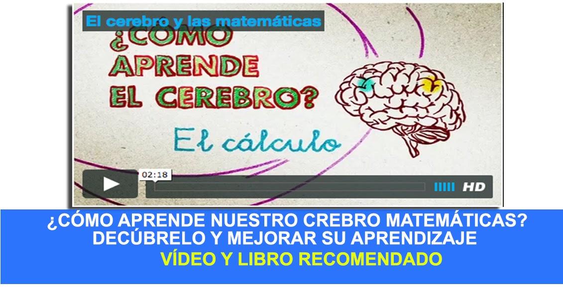 Vídeo+Libro.¿Cómo aprende nuestro cerebro las matemáticas?