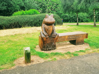 A piece of art on the Gyosei Art Trail