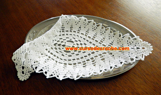 croche dicas como aumentar ou diminuir o tapete de croche Edinir-Croche