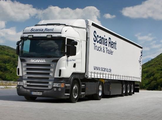 truk scania trailer tronton spesial