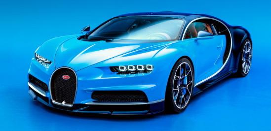 2018 Bugatti Chiron Design