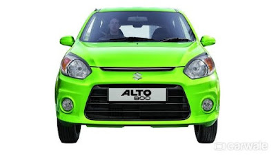 2016 latest Maruti Suzuki Alto800 Facelift front look image