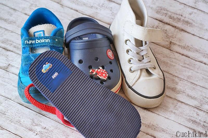 Schuhaufkleber