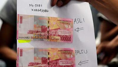 Masyarakat Diminta Kian Waspada Terhadap Uang Palsu