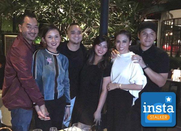 Luis Manzano's Ex-Girlfriend Jennylyn Mercado Attends The Star-Studded Birthday Party Of Angel Locsin!