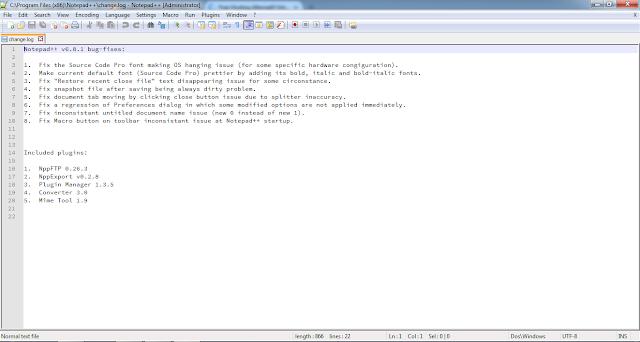 Software Notepad++ - Dunia Programming
