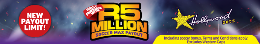 R5 million payout