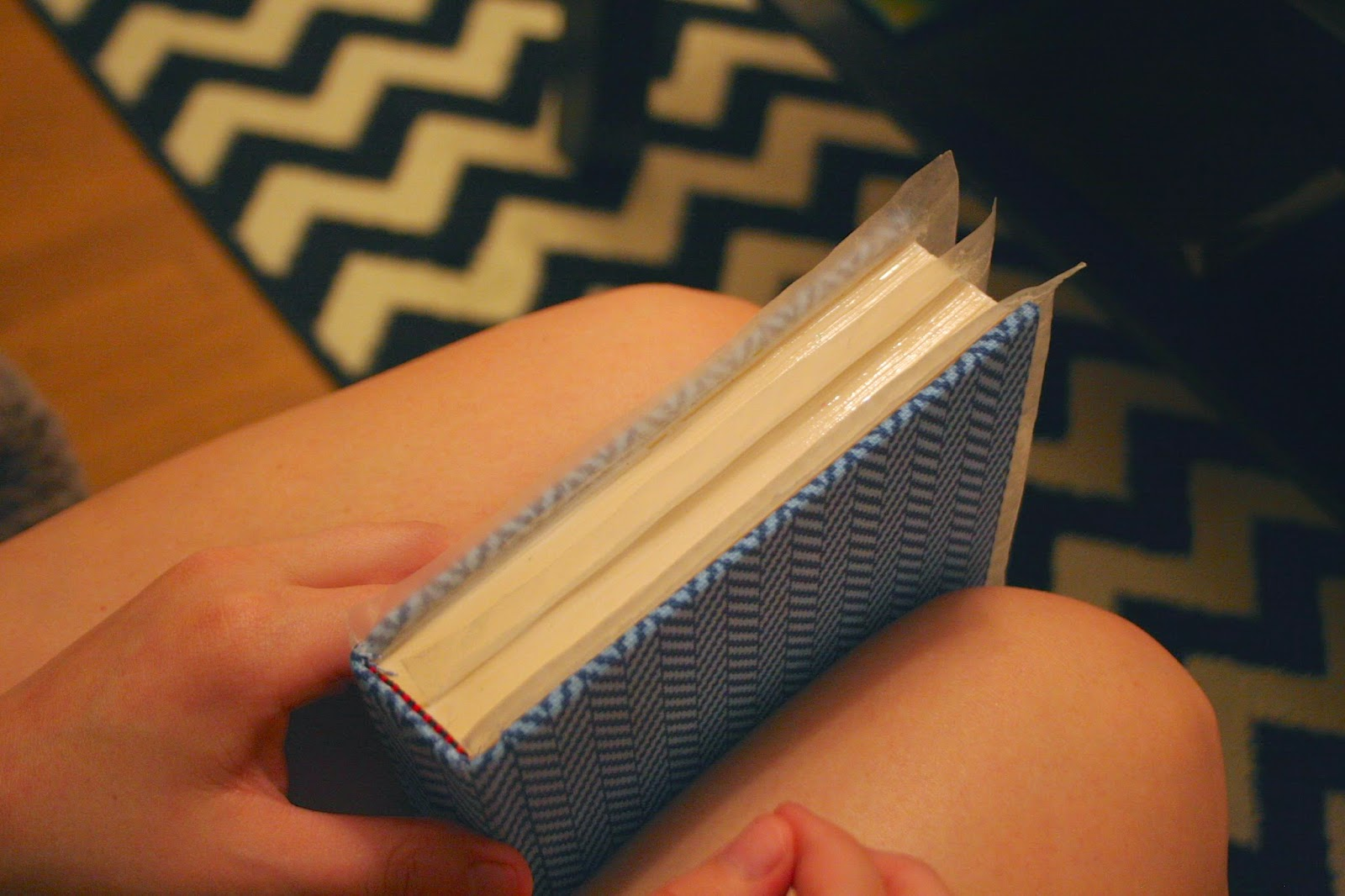 Homemade Book Clutch - The Surznick Common Room
