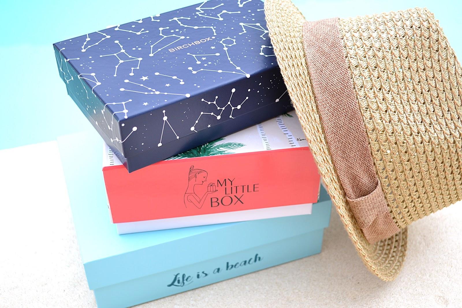 blog l 39 univers de mel glossybox birchbox little box la battle box beaut de juillet 2016. Black Bedroom Furniture Sets. Home Design Ideas