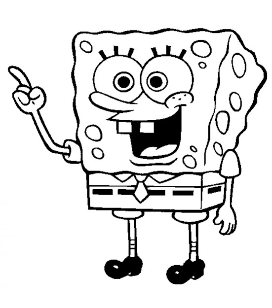 Coloring Pages Of Spongebob Spongebob Coloring Pages Coloring Pages Within Sponge  Bob Coloring Free Coloring Book