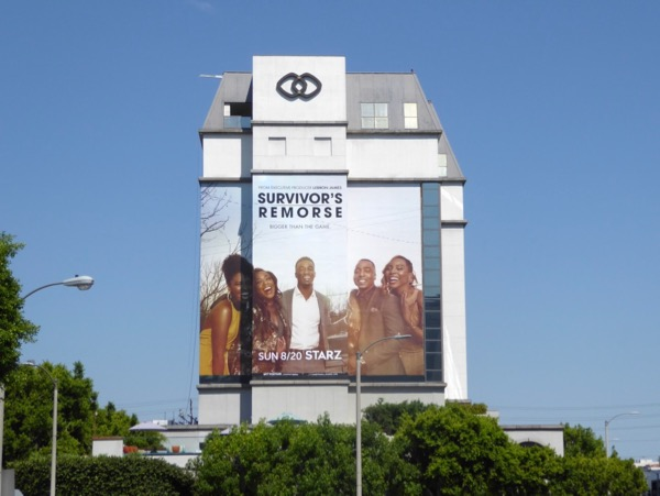 Giant Survivors Remorse season 4 billboard