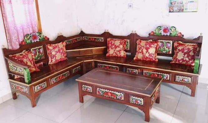 Model Kursi Sudut Sofa