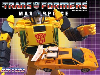 Transformers Masterpiece Mp-39 Sunstreaker recensione
