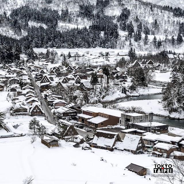 【白川鄉】積雪像糖霜薑餅屋 冬季前進夢幻合掌村