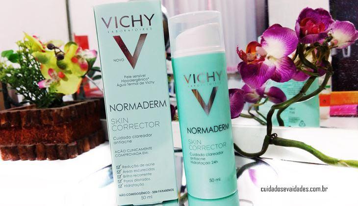 Vichy Normaderm Skin Corrector Clareador Antiacne