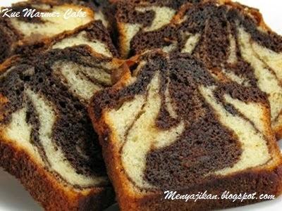Kue Marmer Cake