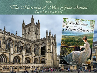 Enter The Marriage of Miss Jane Austen 2016 Travel Sweepstakes. Ends 4/14