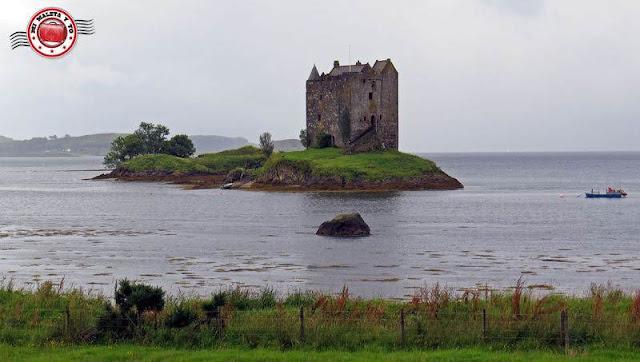 Escocia, Castillo Stalker