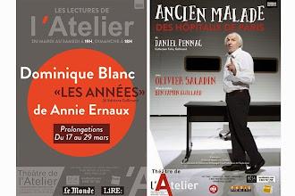 Le Théâtre de l'Atelier propose deux promotions exceptionnelles aux lecteurs