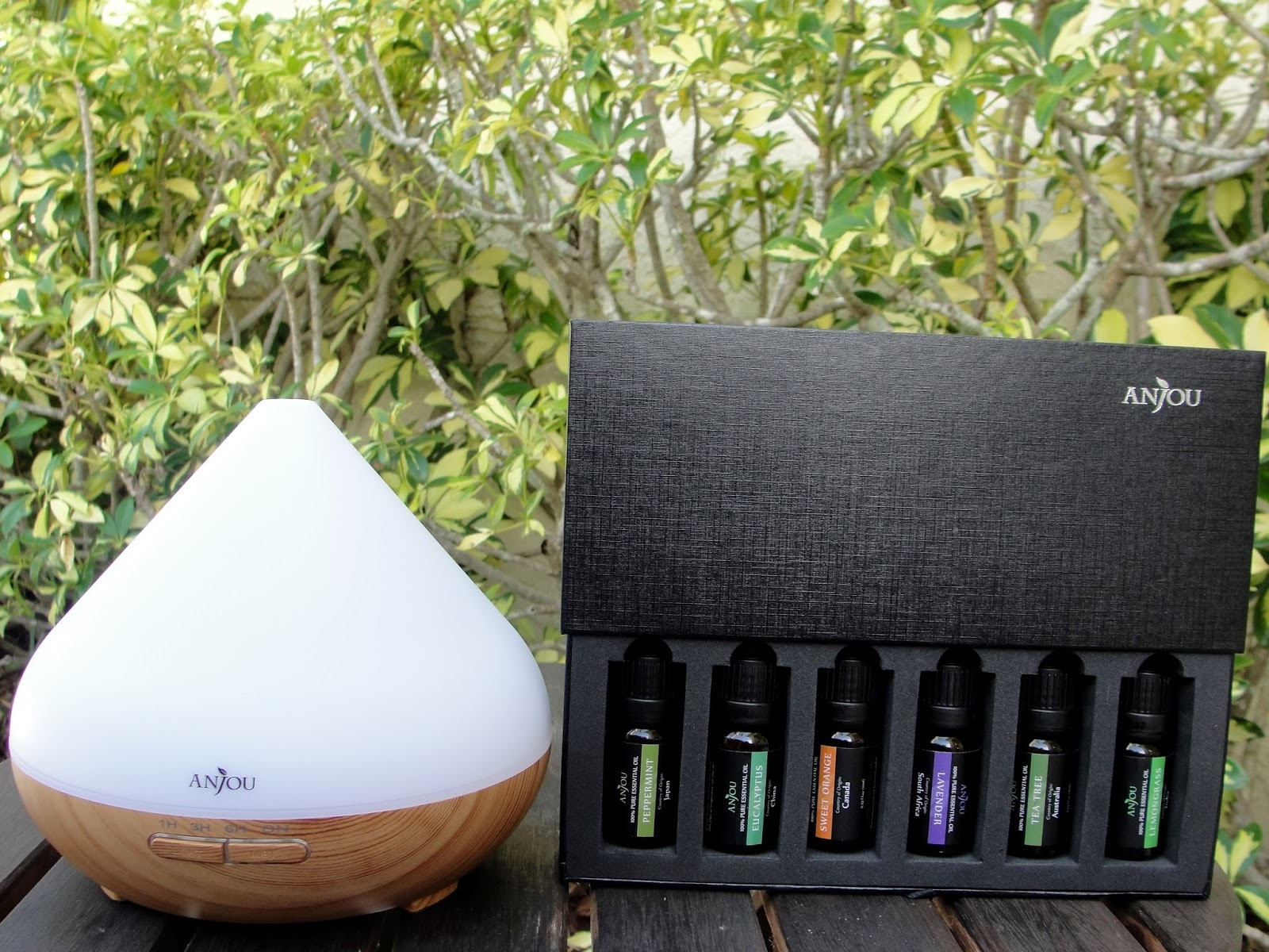 #819239 Anjou Aromatherapy Diffuser & Essential Oils Set  Most Effective 1175 Aromatherapy Diffuser Set pictures with 1600x1200 px on helpvideos.info - Air Conditioners, Air Coolers and more