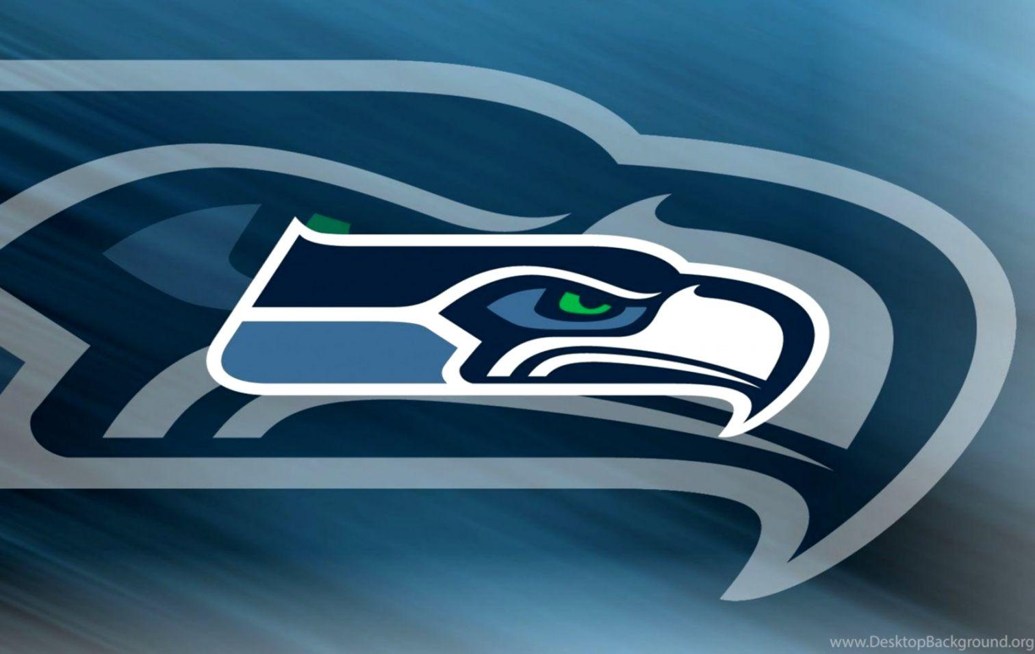 Seattle Seahawks Nfl Logo Widescreen Free Hd Wallpapers