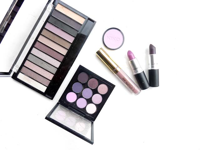 beauty, makeup, purple, cosmetics, shade, colour, eyeshadow, lipstick, MAC times 9 purple review, Smoked Purple, Up The Amp, LA Splash liquid lipstick, Ghoulish, swatch, review, Makeup Revolution, romantic, Smoked, palette, youwishyou,