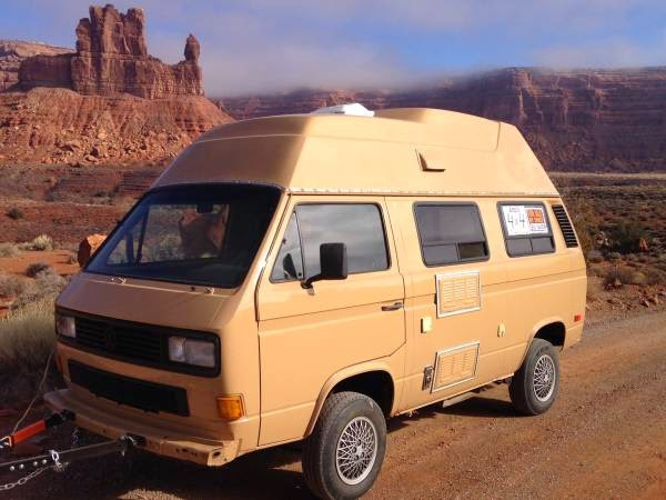 Used RVs 1986 VW Syncro 4x4 High-Top Camper For Sale by Owner