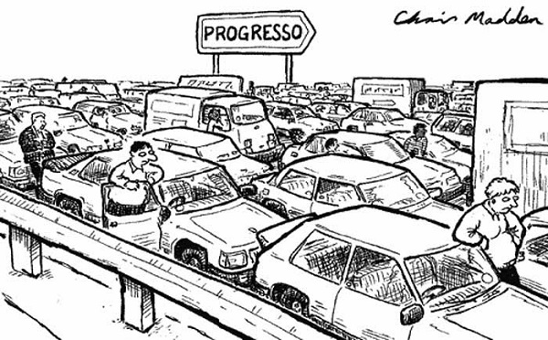 Autossustentável: Progresso