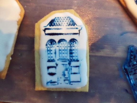 stempel oud hollandse huisjes