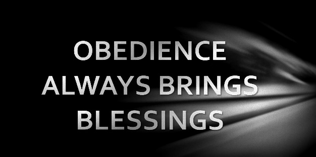 Image result for obedience bless