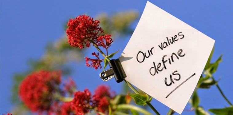 Our values define us