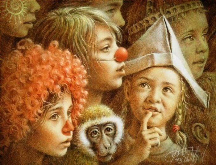 Нидерландский художник. Jacob Christian Poen de Wijs