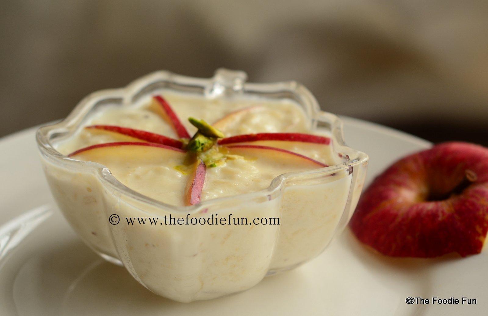 Image result for apple kheer