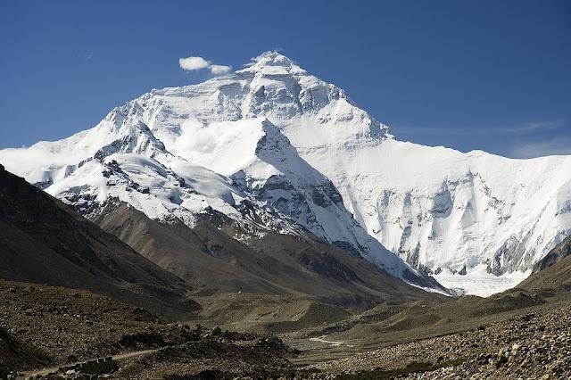gunung tertinggi di dunia mount everest