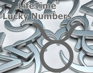 LifeTime Lucky numbers for Taurus Fortune Forecast