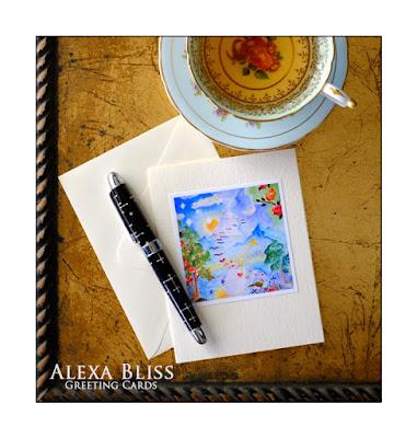 Alexa Bliss Greeting Cards www.alexabliss.com