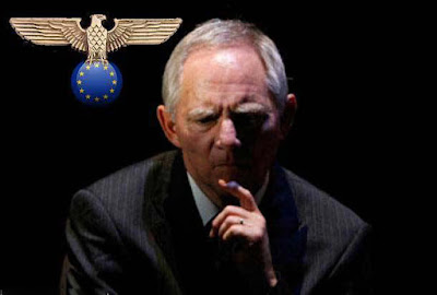 Nazi Europa - Wolfgang Schäuble witzig