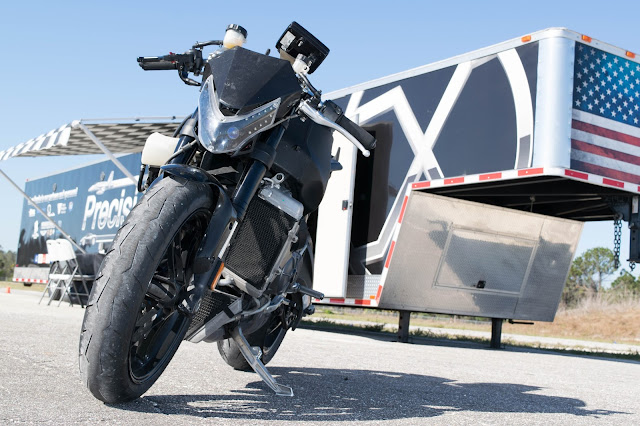 2014 EBR 1190rx with race trailer