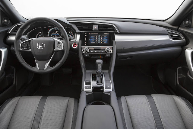 Honda Civic Hatch 2017 - interior
