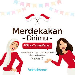 #StopTanyaKapan, Lomba Menulis Curahan Hati Vemale (DL Agustus 2016)