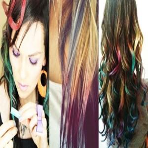 Modelos de cabelos coloridos para 2015